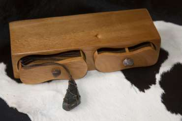 Kauri Box -Double Drawer